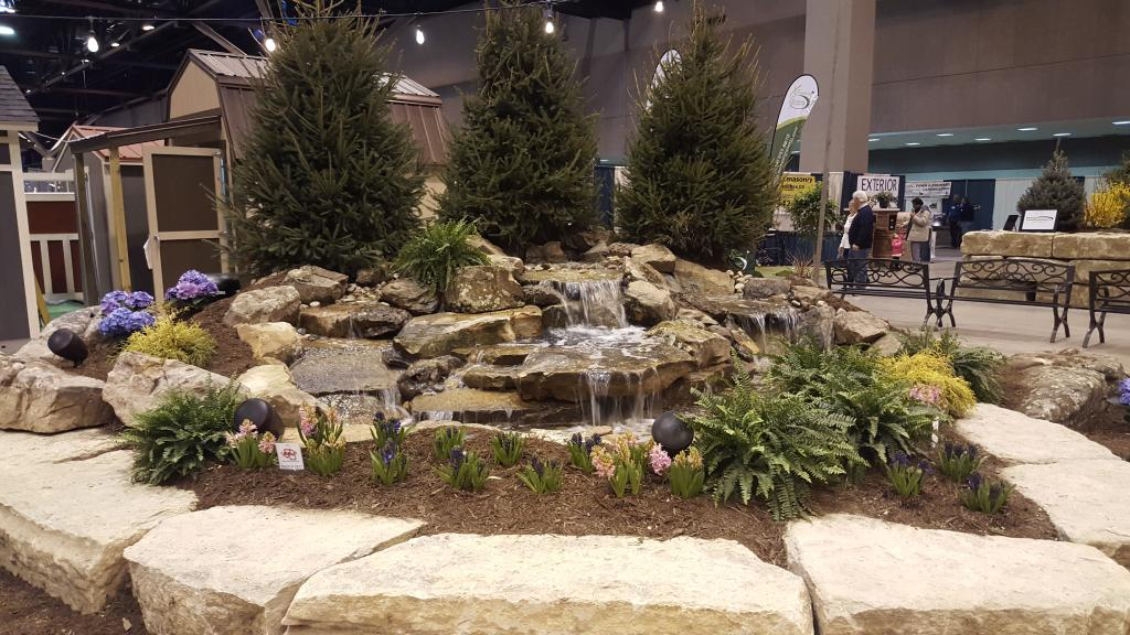 Home Decor Expo 2018 Waterfall: Home And Garden Show Waterfall 2018